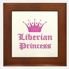 Liberian Princess Framed Tile