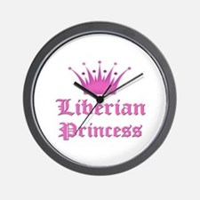 Liberian Princess Wall Clock