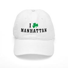 I Shamrock Love Manhattan Baseball Cap