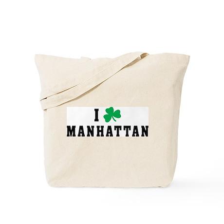 I Shamrock Love Manhattan Tote Bag