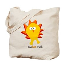 One Hot Chick Tote Bag