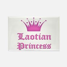 Laotian Princess Rectangle Magnet