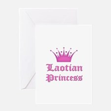 Laotian Princess Greeting Card