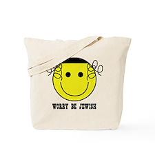 Worry Be Jewish Tote Bag