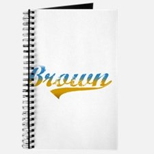 Beach colored Brown Journal