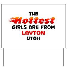 Hot Girls: Layton, UT Yard Sign