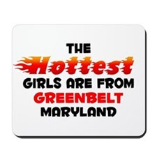 Hot Girls: Greenbelt, MD Mousepad