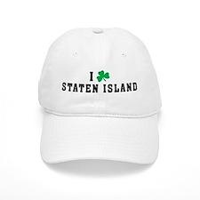 I Shamrock Love Staten Island Baseball Cap