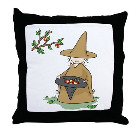 Brown Throw Pillow