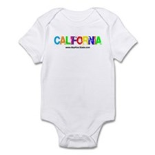 Colorful California Infant Bodysuit