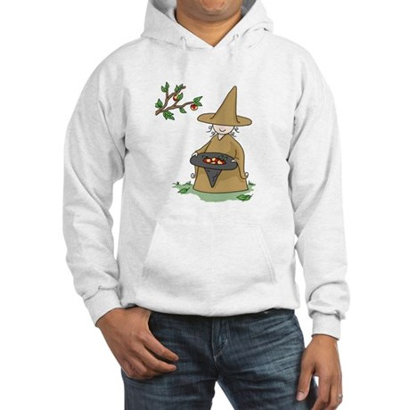 Brown Hooded Sweatshirt