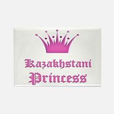 Kazakhstani Princess Rectangle Magnet