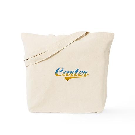 Beach colored Carter Tote Bag