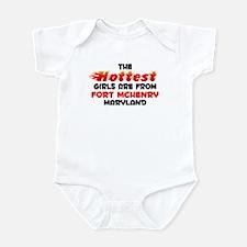 Hot Girls: Fort McHenry, MD Infant Bodysuit