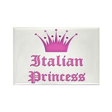 Italian Princess Rectangle Magnet