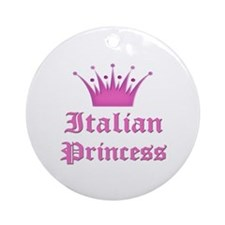 Israeli Princess Ornament (Round)