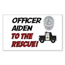 Aiden to the Rescue! Rectangle Decal