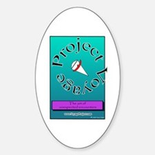 Voyage Project Oval Decal