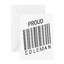 Unique Coleman america Greeting Card