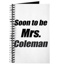 Soon to be Mrs. Coleman Journal