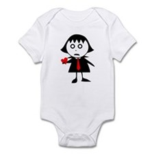 Spooky Love Infant Bodysuit