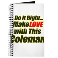 Love this Coleman Journal