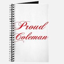 proud Coleman Journal
