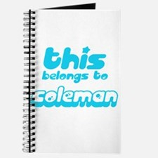 belongs to Coleman Journal
