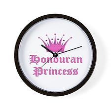 Honduran Princess Wall Clock