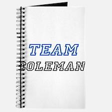 Team Coleman Journal