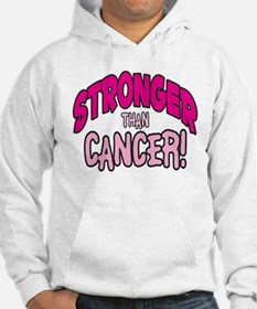 STRONGER THAN CANCER (PINK) Hoodie