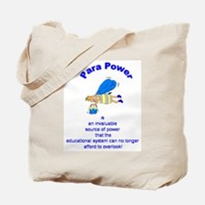 Para Power Tote Bag