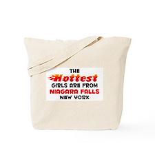 Hot Girls: Niagara Fall, NY Tote Bag