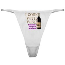 Wine Cook Classic Thong