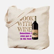 Wine Cook Tote Bag