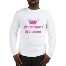 Grenadan Princess Long Sleeve T-Shirt