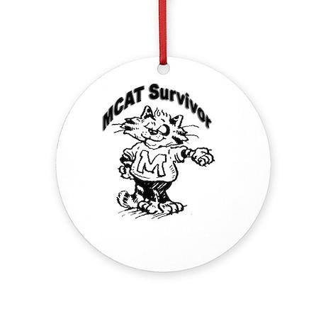 MCAT Survivor Ornament (Round)