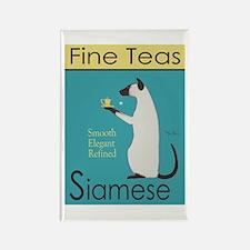 Siamese Fine Teas Rectangle Magnet