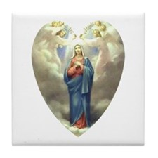 Ave Maria Tile Coaster