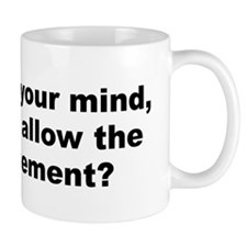 Funny Allen quotation Mug