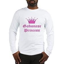 Gabonese Princess Long Sleeve T-Shirt