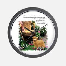 Norfolk Terrier Art Wall Clock