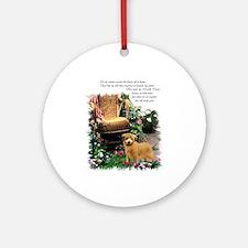 Norfolk Terrier Art Ornament (Round)