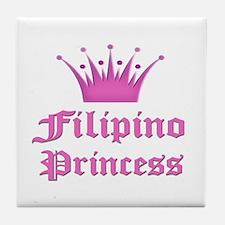 Fijian Princess Tile Coaster