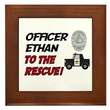 Ethan to the Rescue!  Framed Tile