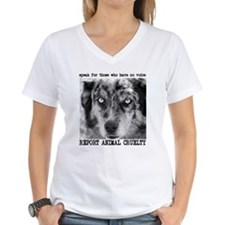 Report Animal Cruelty Dog Shirt