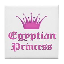 Egyptian Princess Tile Coaster