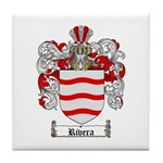 Rivera Coat of Arms Tile Coaster