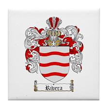 Rivera Coat of Arms Tile Coaster