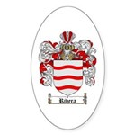 Rivera Coat of Arms Oval Sticker